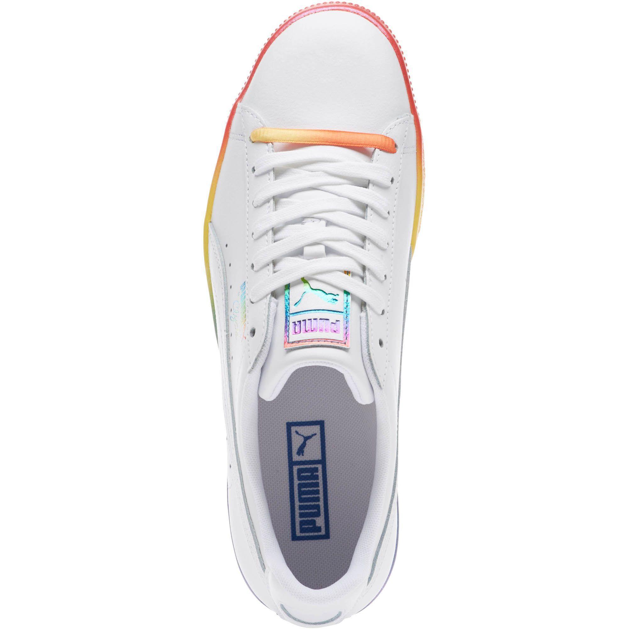 premium selection 84271 de066 PUMA White Clyde Pride Sneakers