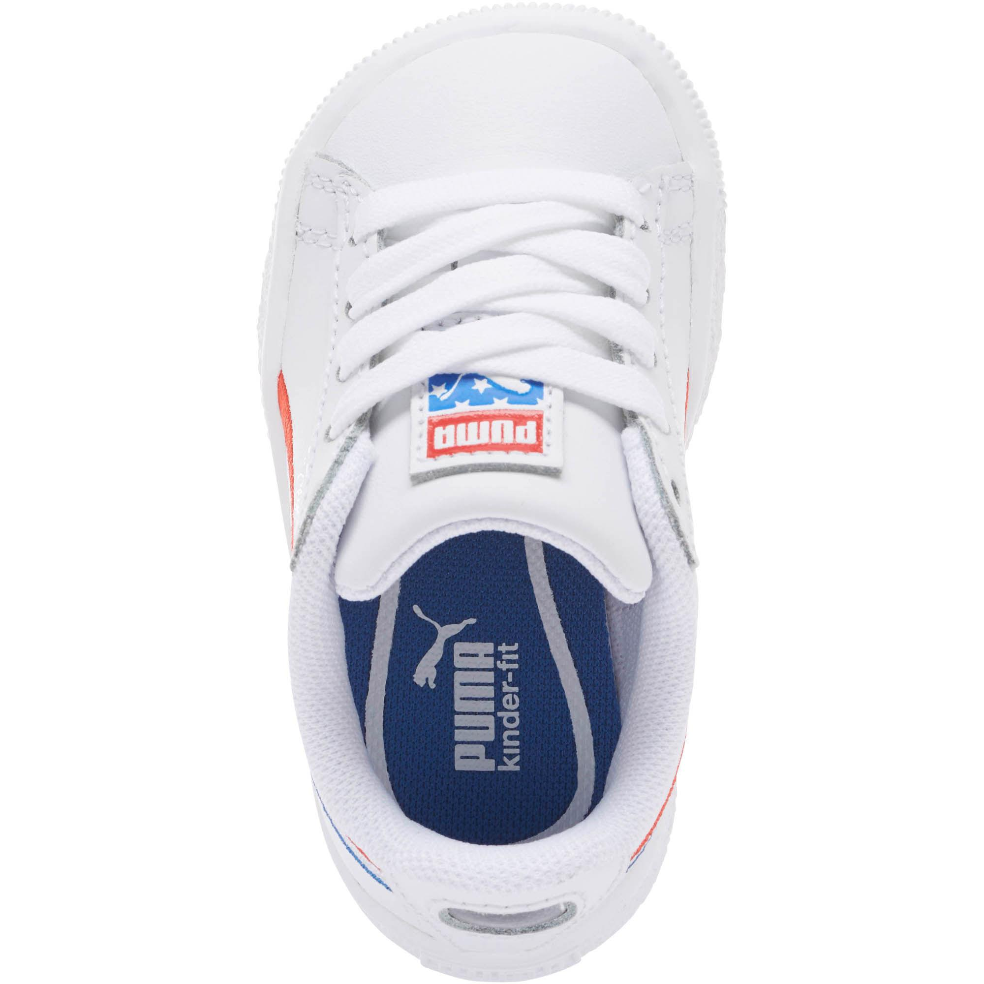size 40 ca505 9bd40 PUMA White Clyde 4th Of July Jr Sneakers