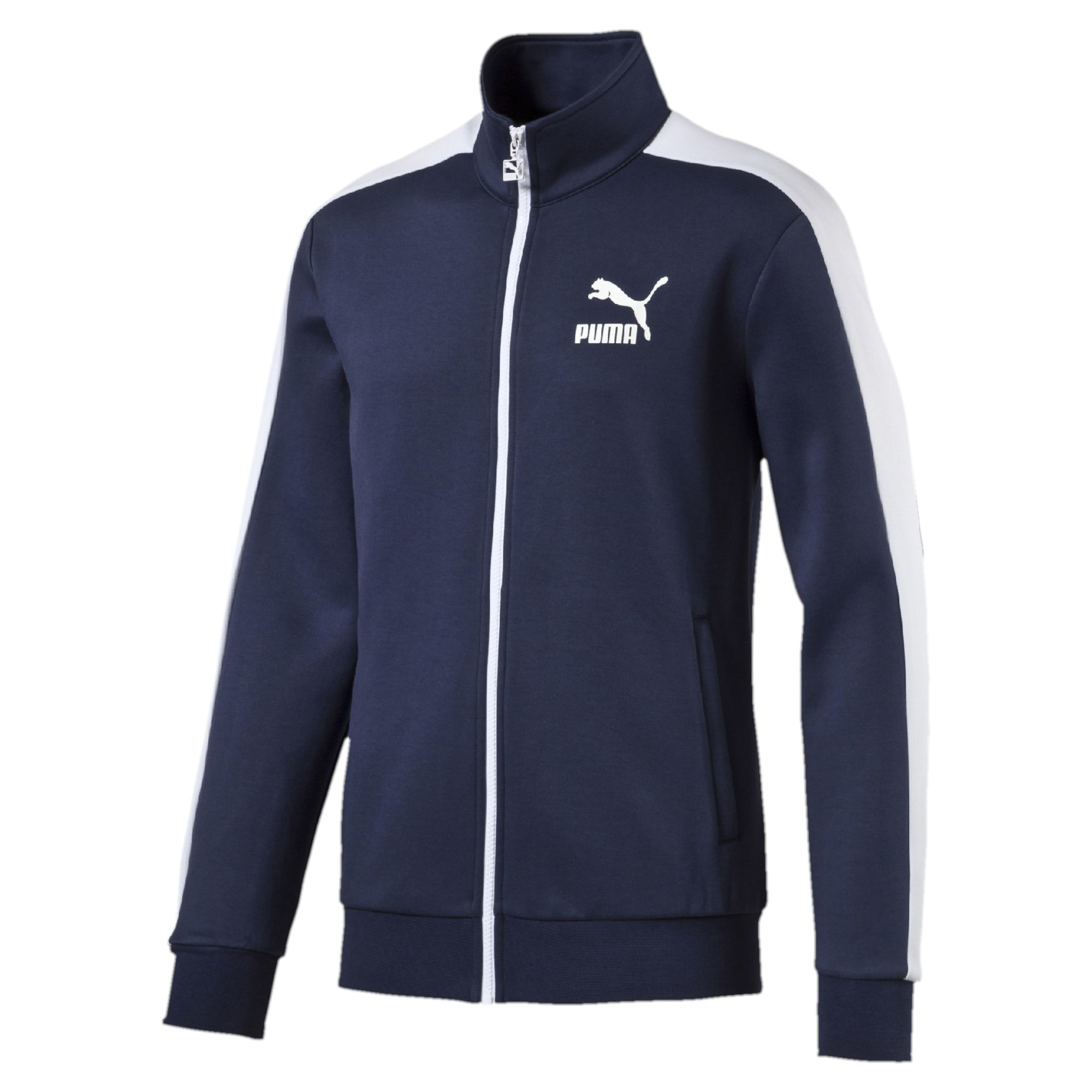 Puma Archive T7 Track Jacket in White for Men