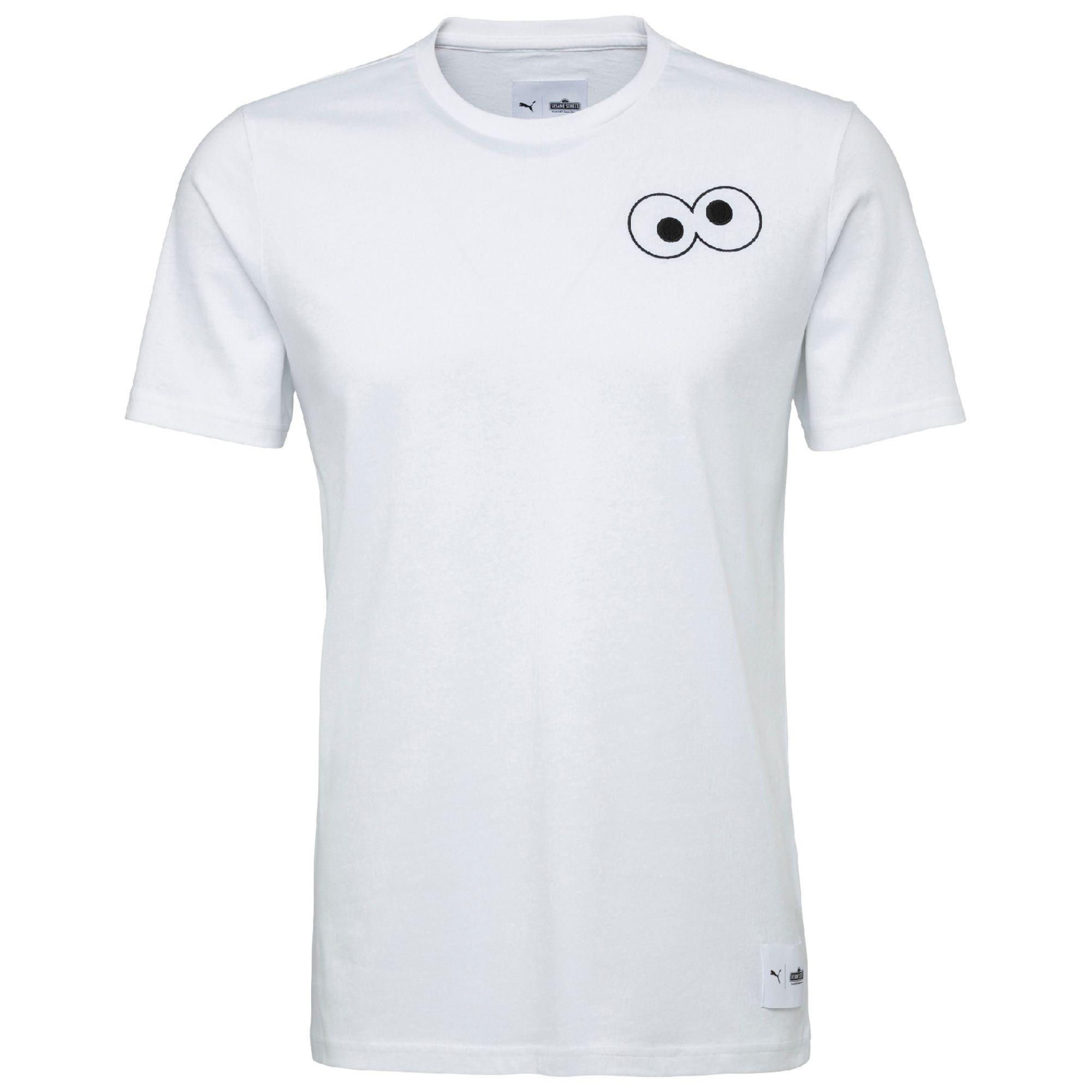 69244790 PUMA X Sesame Street T-shirt in White for Men - Lyst