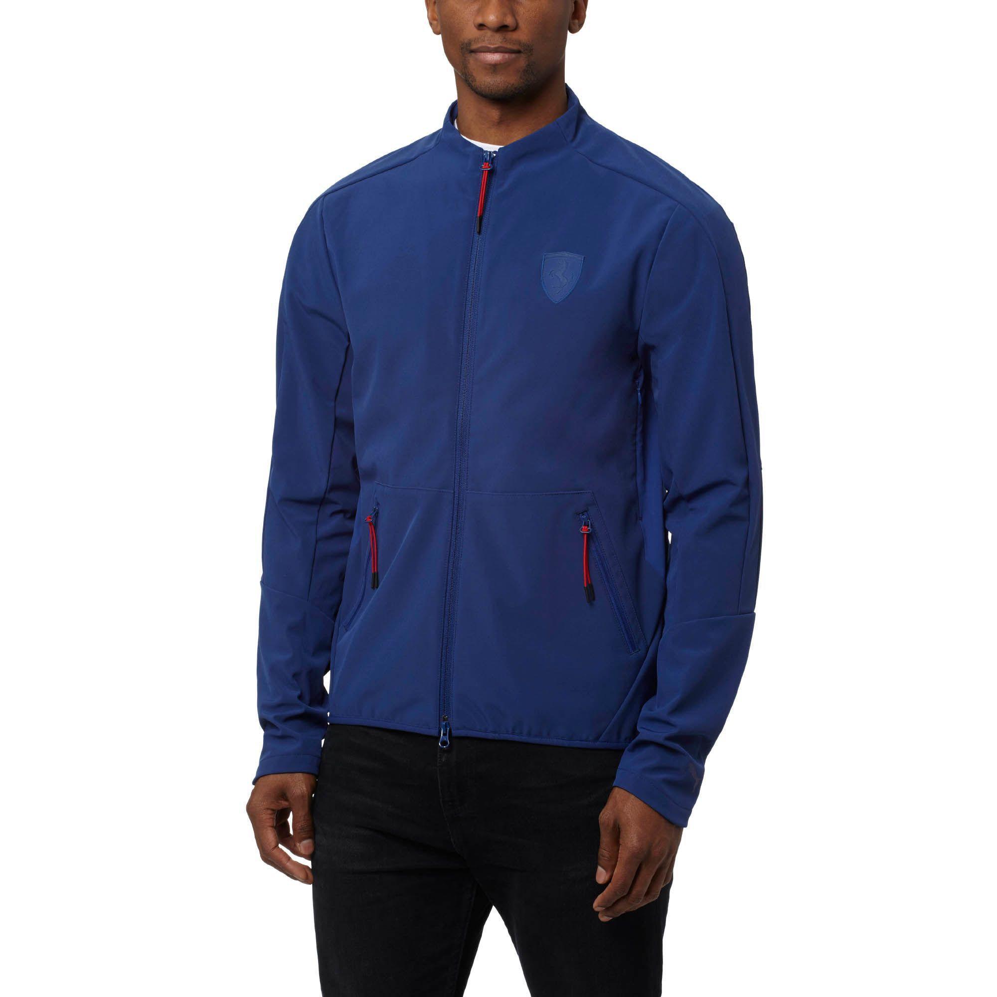 151405b540cb6 PUMA Blue Ferrari T7 Track Jacket for men