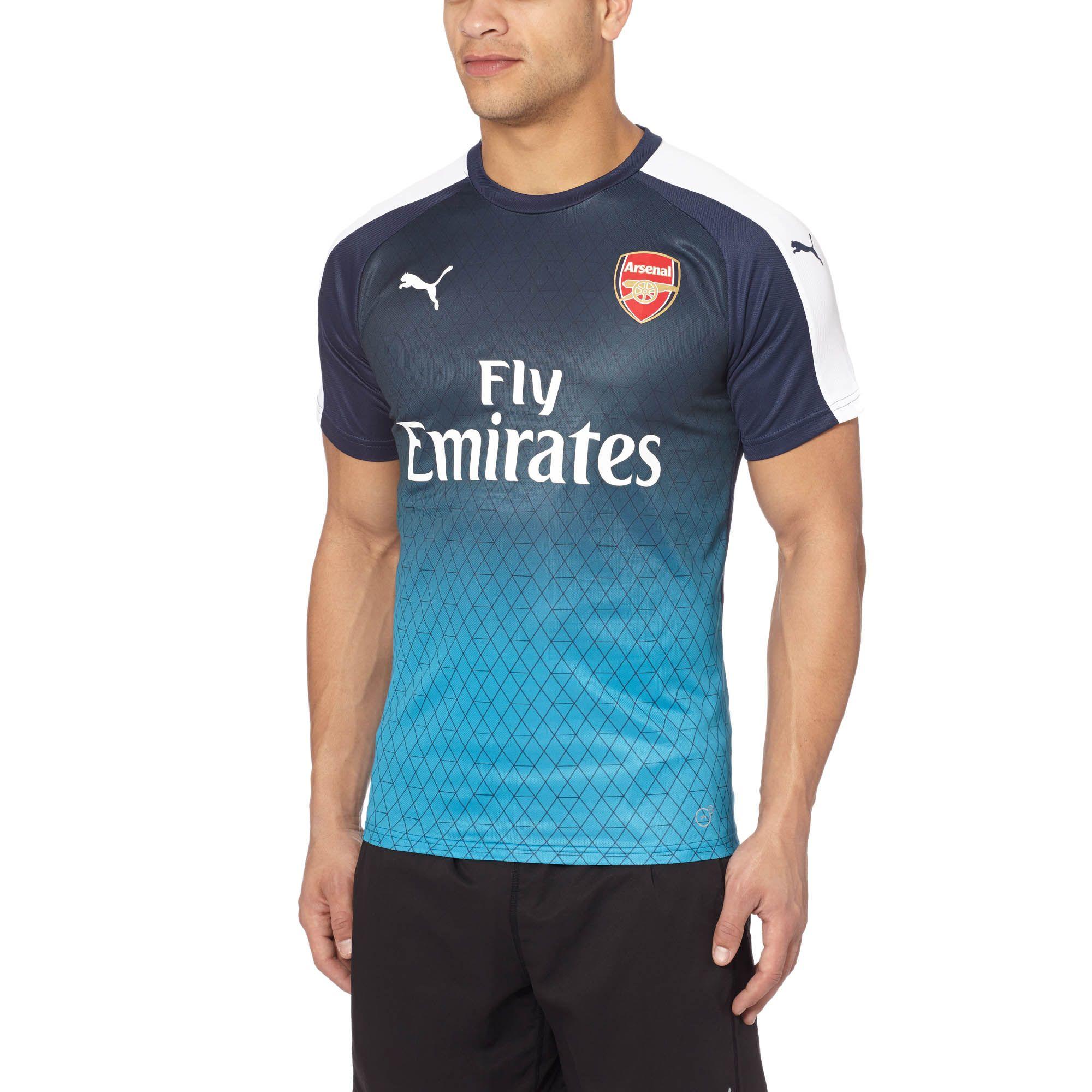 0cae136ddd41a PUMA Arsenal Stadium T-shirt in Blue for Men - Lyst
