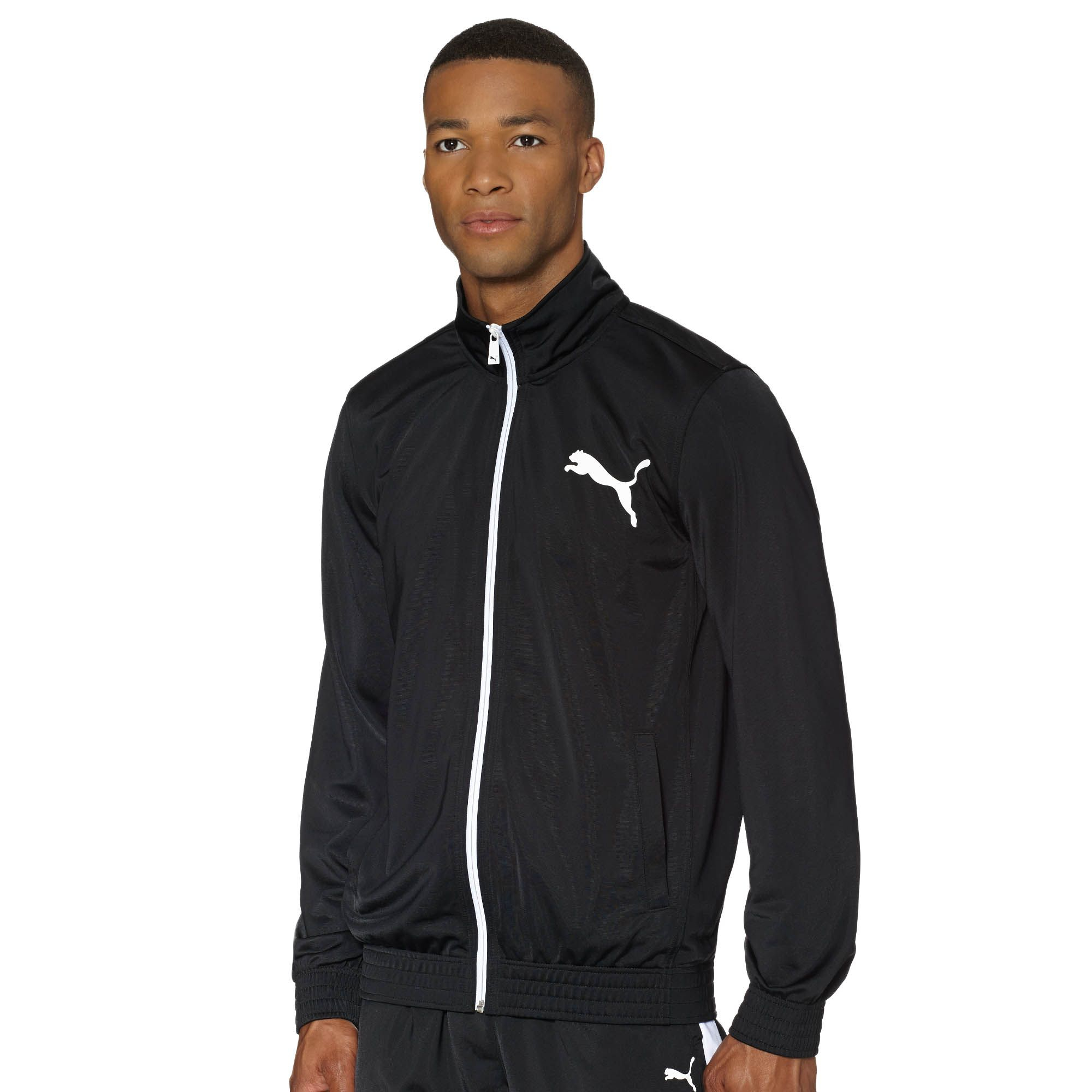 21a36a70ad7f Puma Zip-up Track Jacket in Black for Men