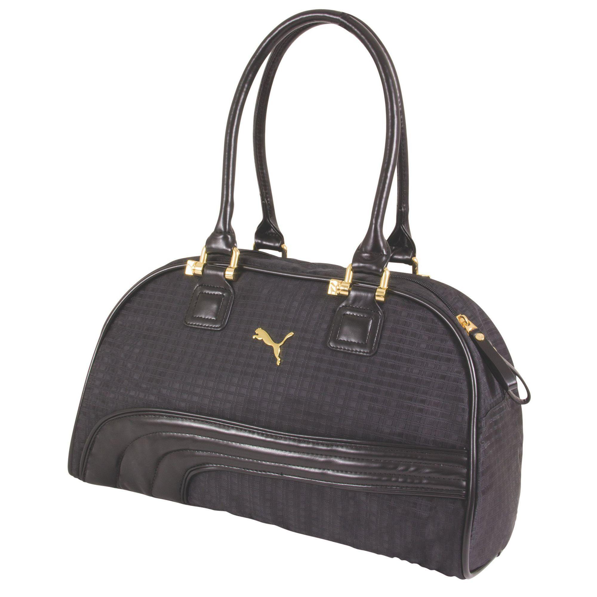 Lyst - PUMA Cartel Handbag in Black 52495d041cb08