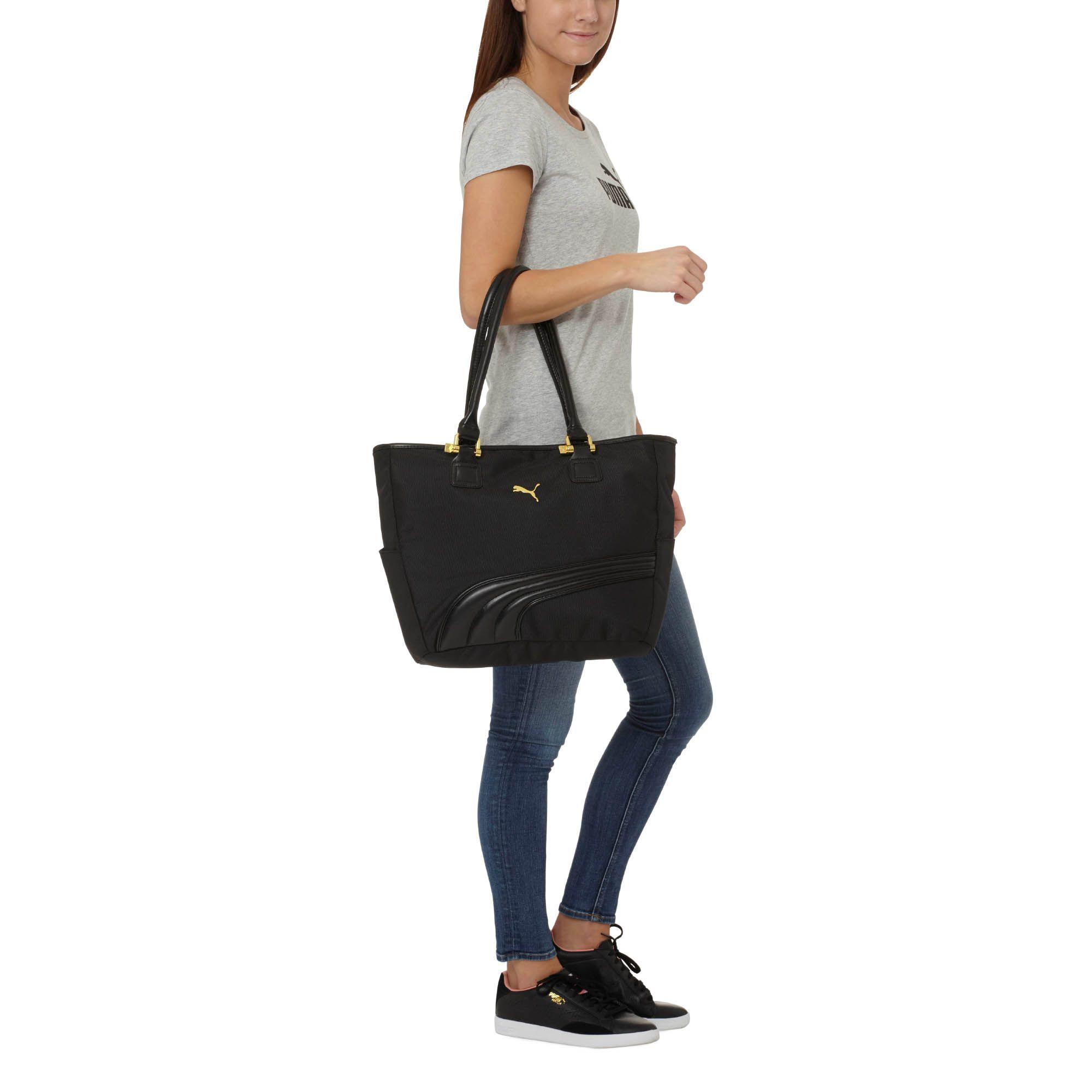 Lyst - PUMA Cartel Tote Bag in Orange 4111720db3534
