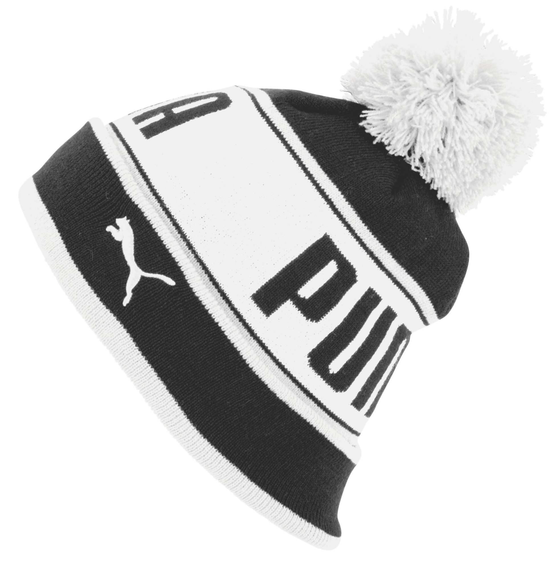 Lyst - PUMA Capital Pom Beanie in Black for Men c451e3c5cfb