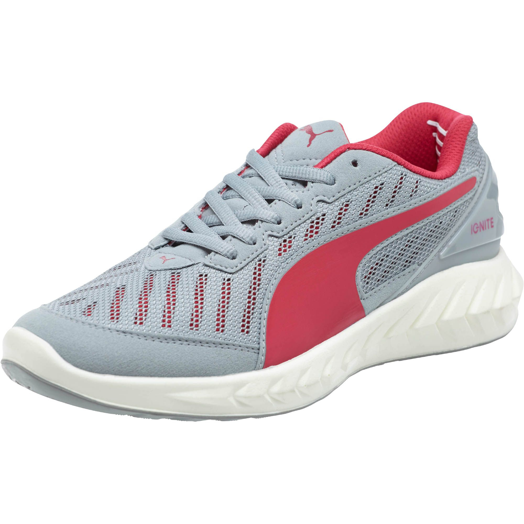 15b151b957b2f2 Lyst - PUMA Ignite Ultimate Je11 Women s Running Shoes in Gray