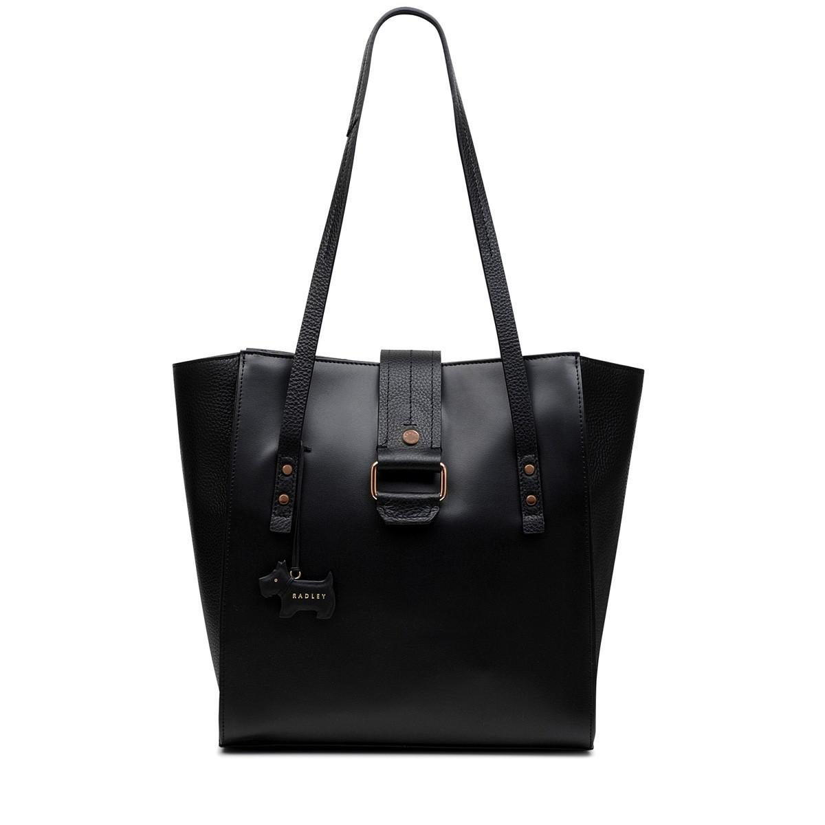 Radley Ellis Mews Leather Large Tote Bag in Black