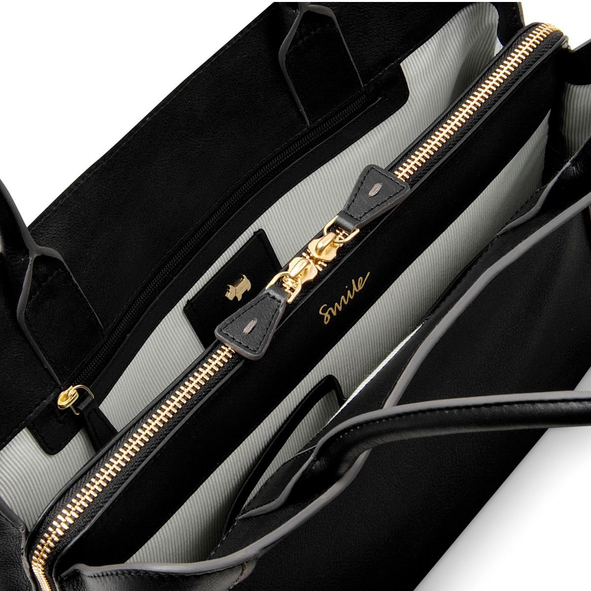 Radley Leather Primrose Hill Large Multi-compartment Tote in Black