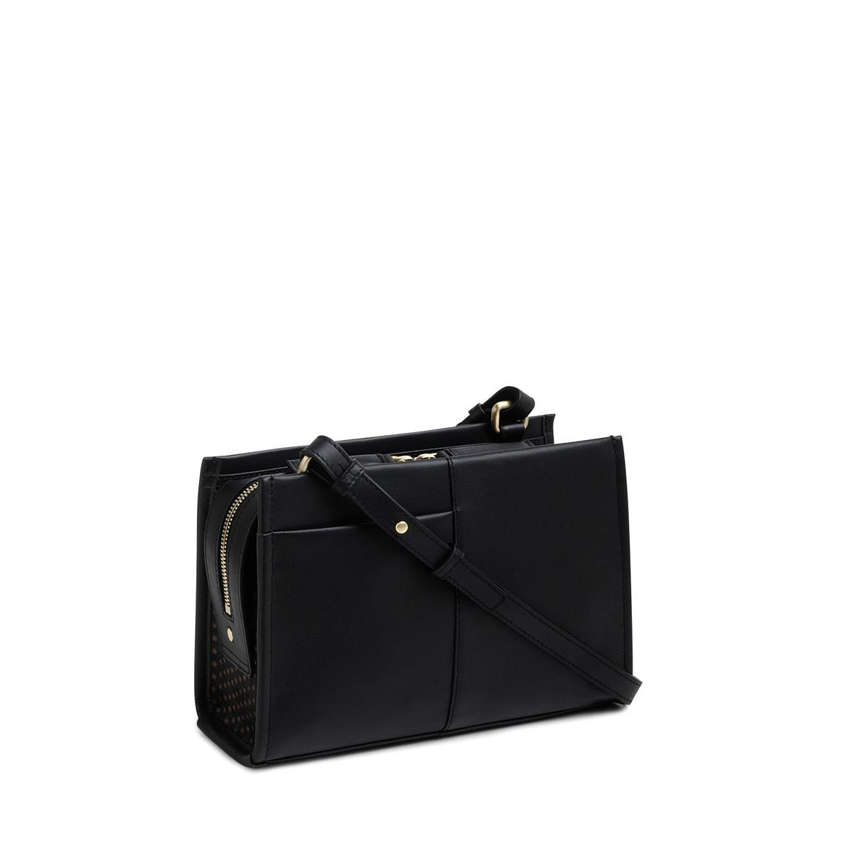 Radley Leather Hope Place Small Zip-top Cross Body in Black