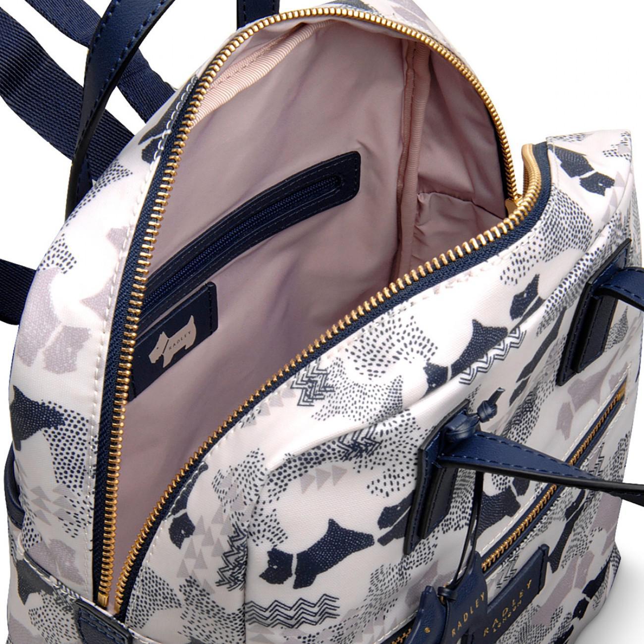 Radley Data Dog Medium Zip-top Backpack