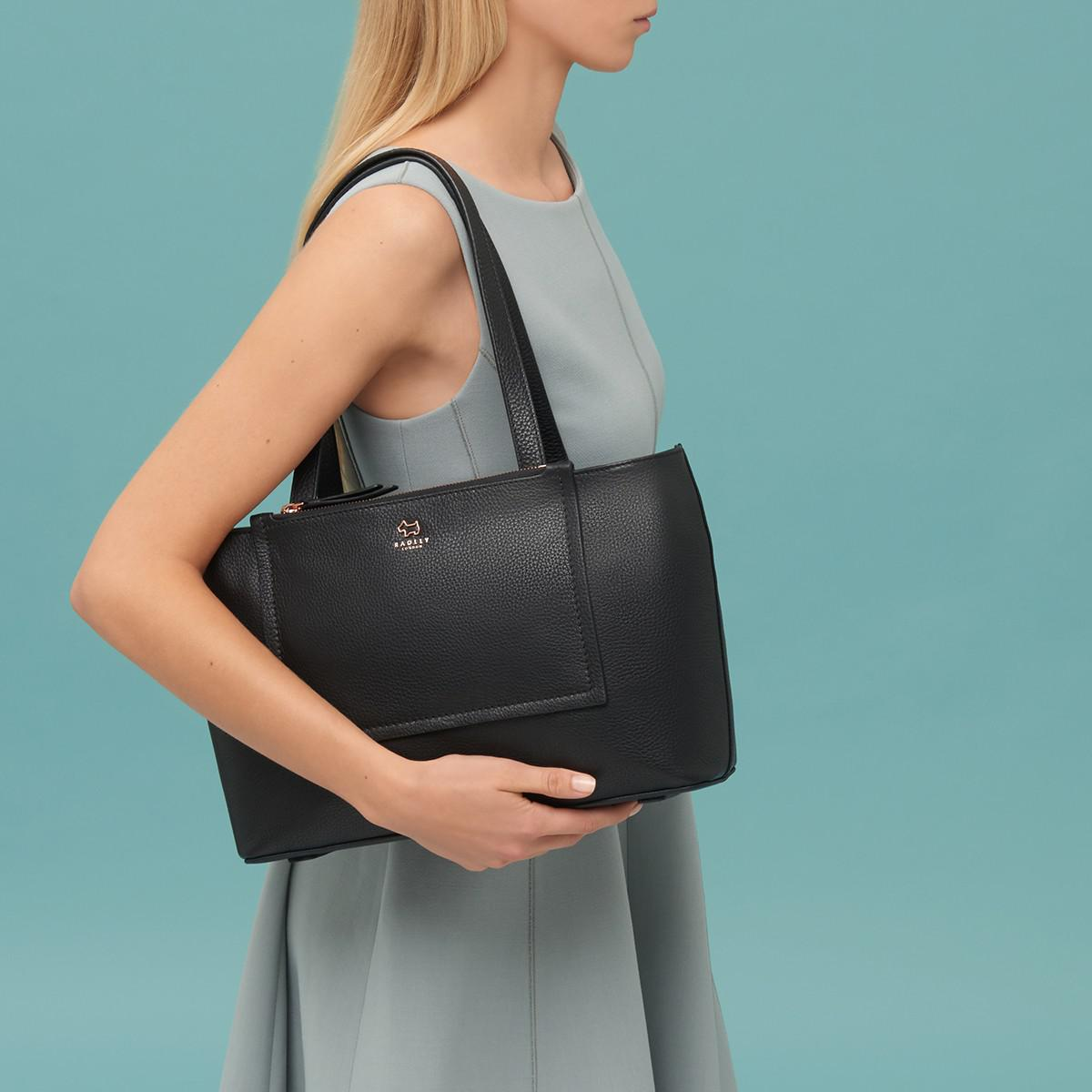 Radley Leather Farthing Downs Large Tote Bag