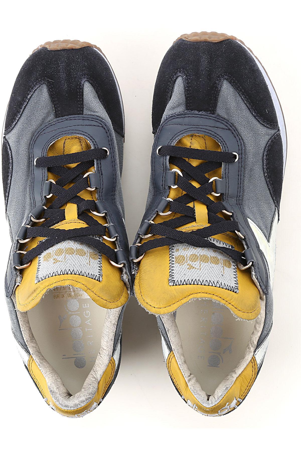 Zapatillas Deportivas de Hombre Diadora de Encaje de color Azul para hombre
