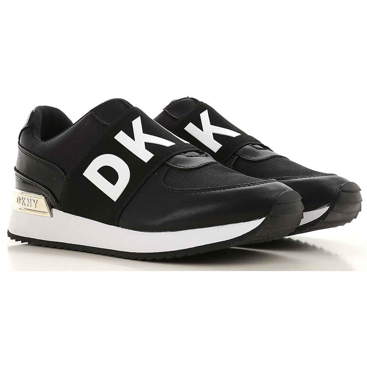 DKNY Sneakers For Women in Black - Lyst