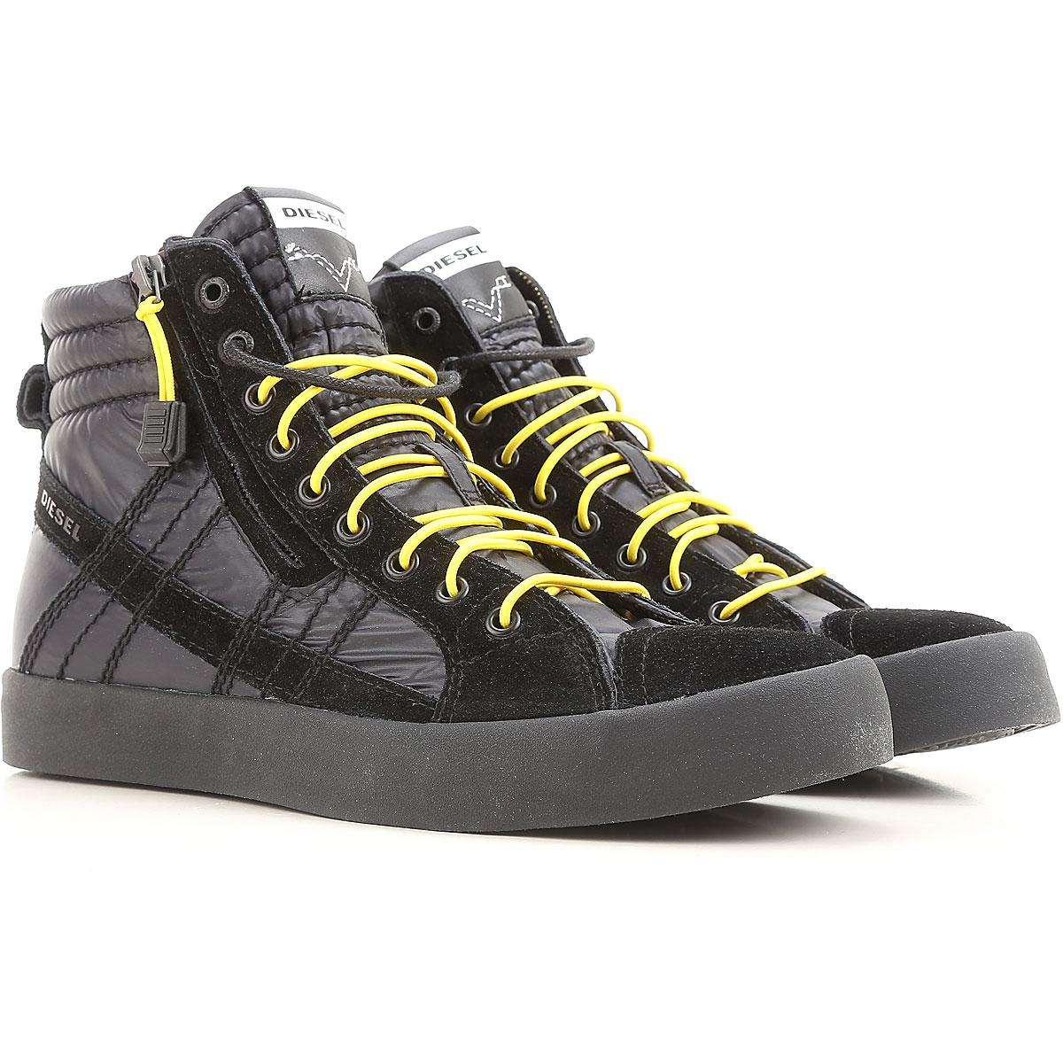 lyst diesel shoes for men in black for men
