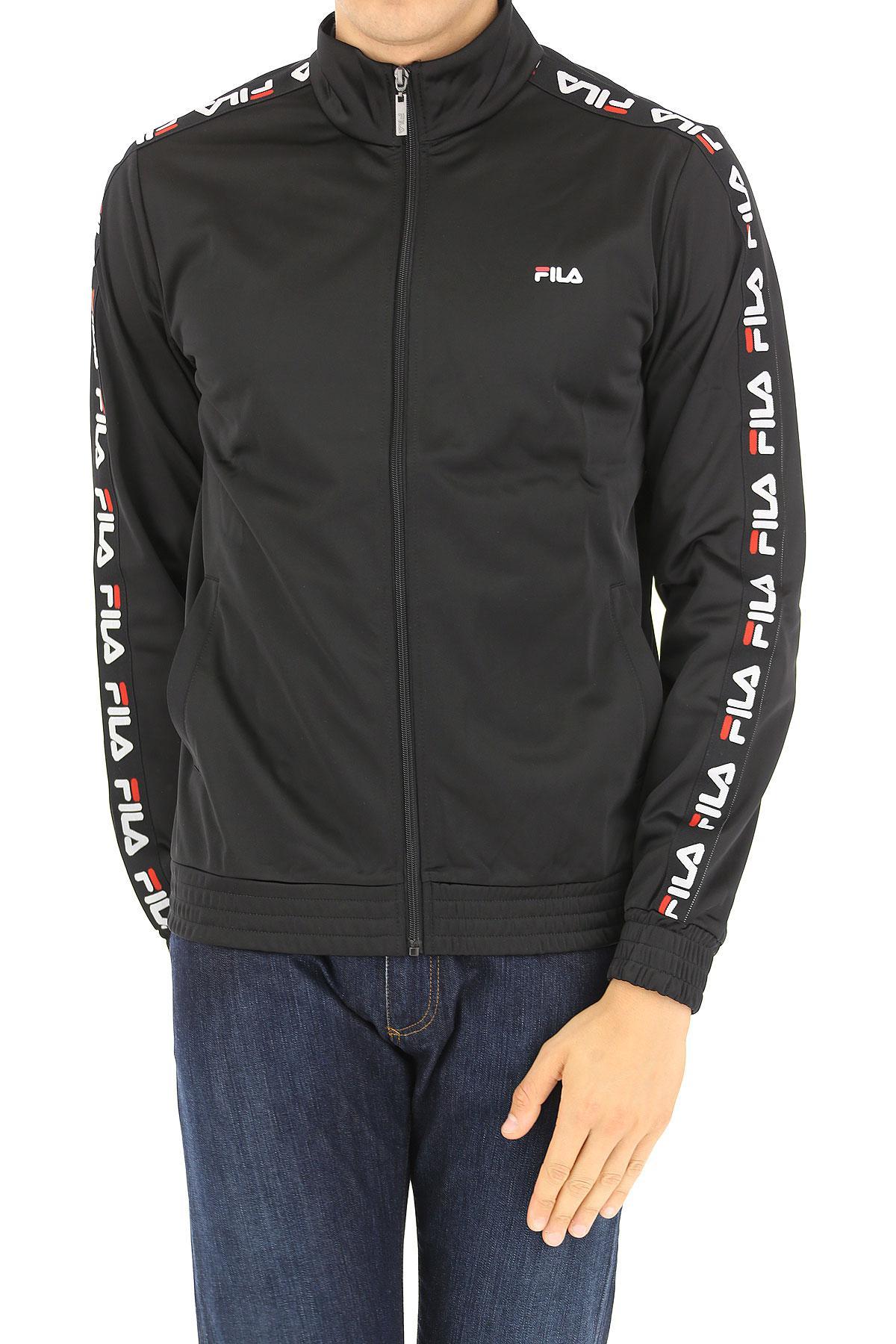 3effc48ff85b Lyst - Fila Jacket For Men On Sale in Black for Men