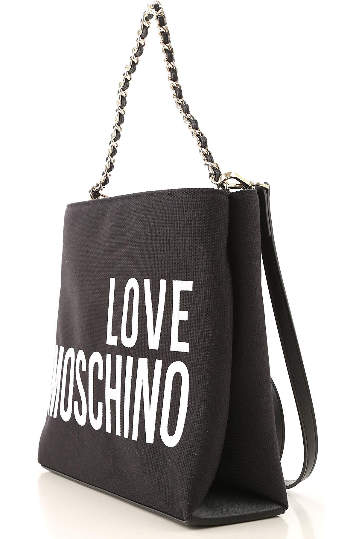 Moschino Handbags in Black - Lyst 6ab070743f162