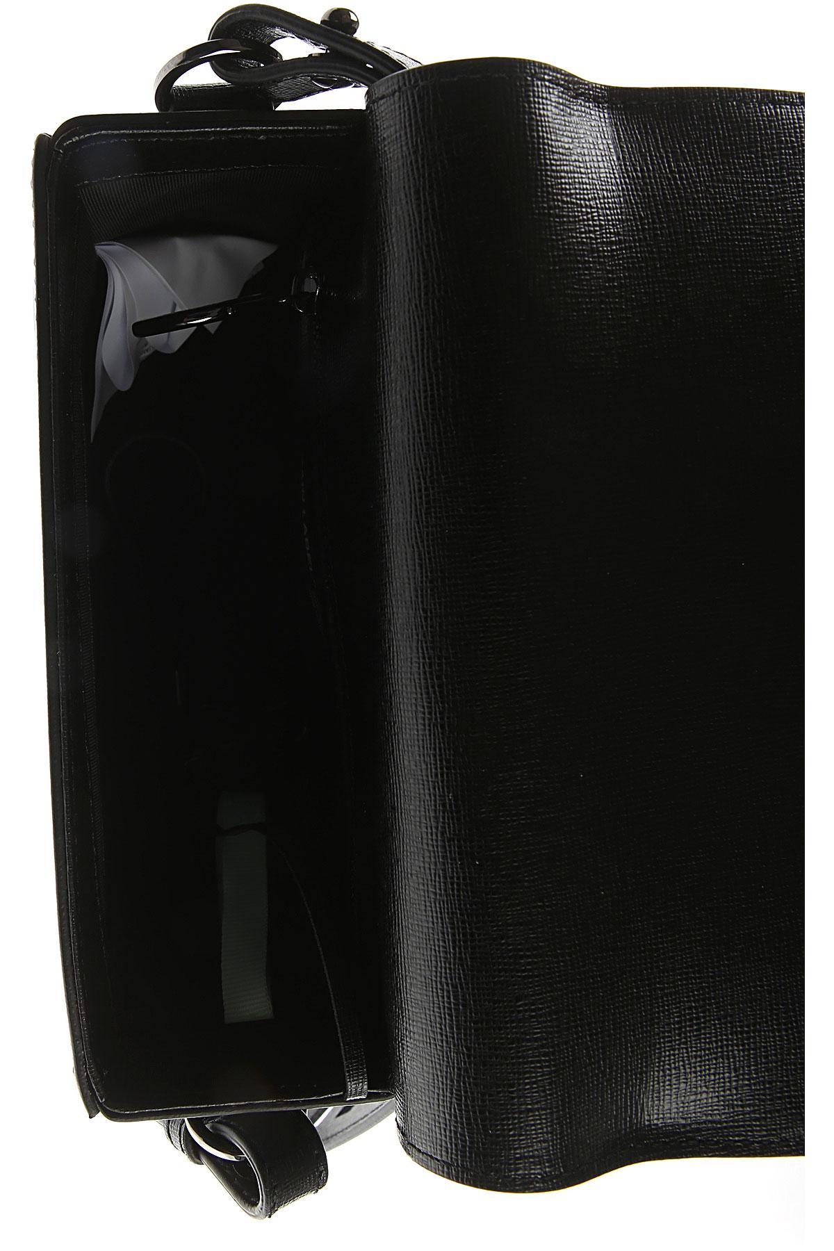 Off White C O Virgil Abloh Handbags In Black Lyst