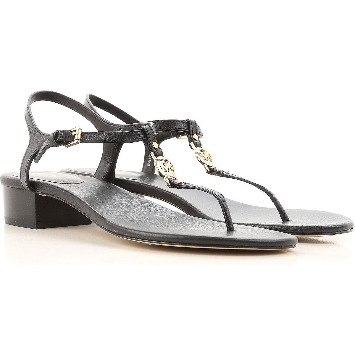 08375502ab0 Michael Kors. Sandale Femme Pas cher en Soldes Outlet de coloris noir