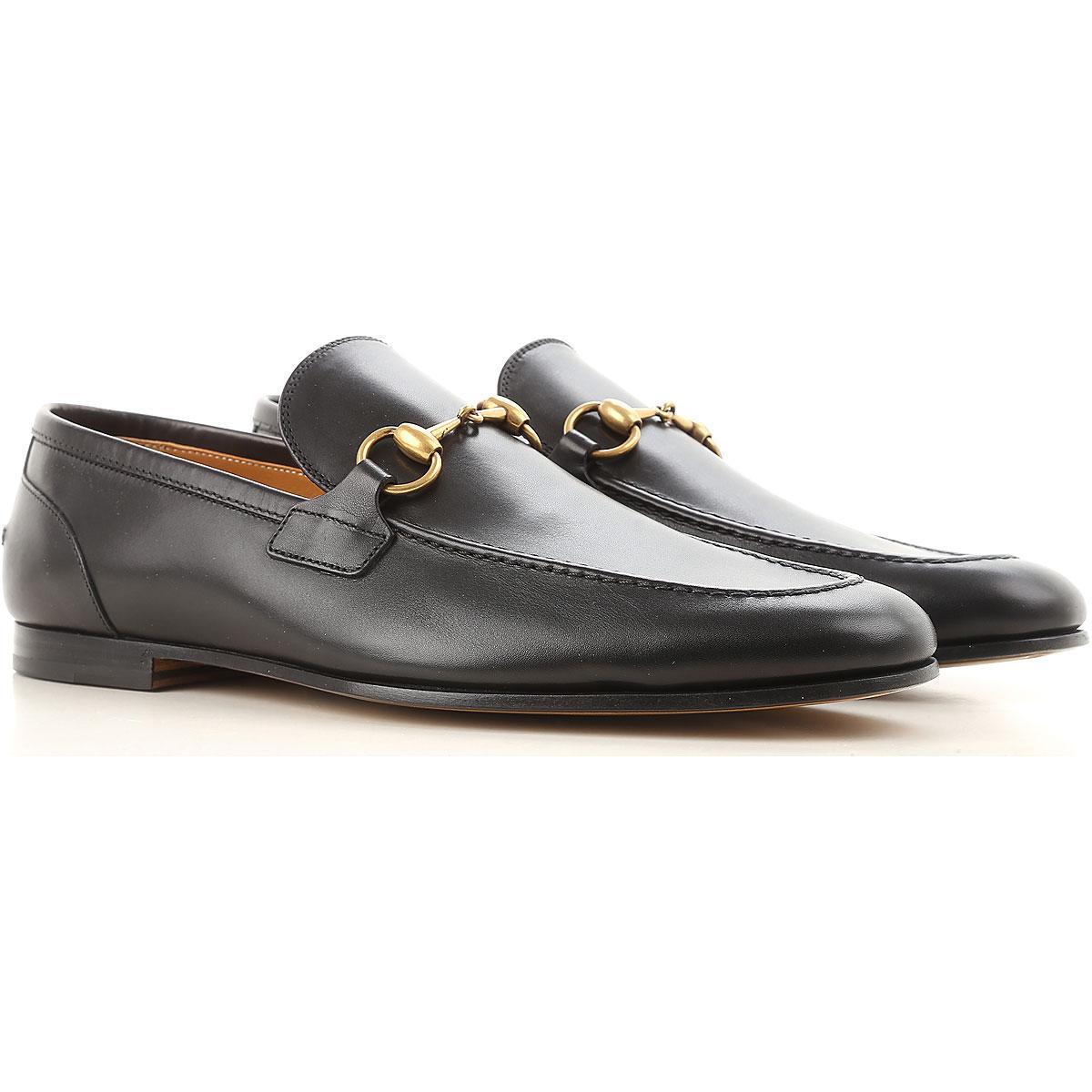 8fee7af76 Lyst - Gucci Loafers For Men in Black for Men - Save 4.755043227665709%