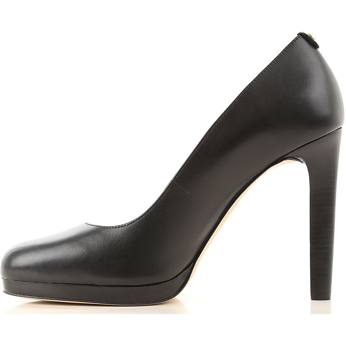 Zapatos de Tacón de Salón Baratos en Rebajas Outlet Michael Kors de color Negro
