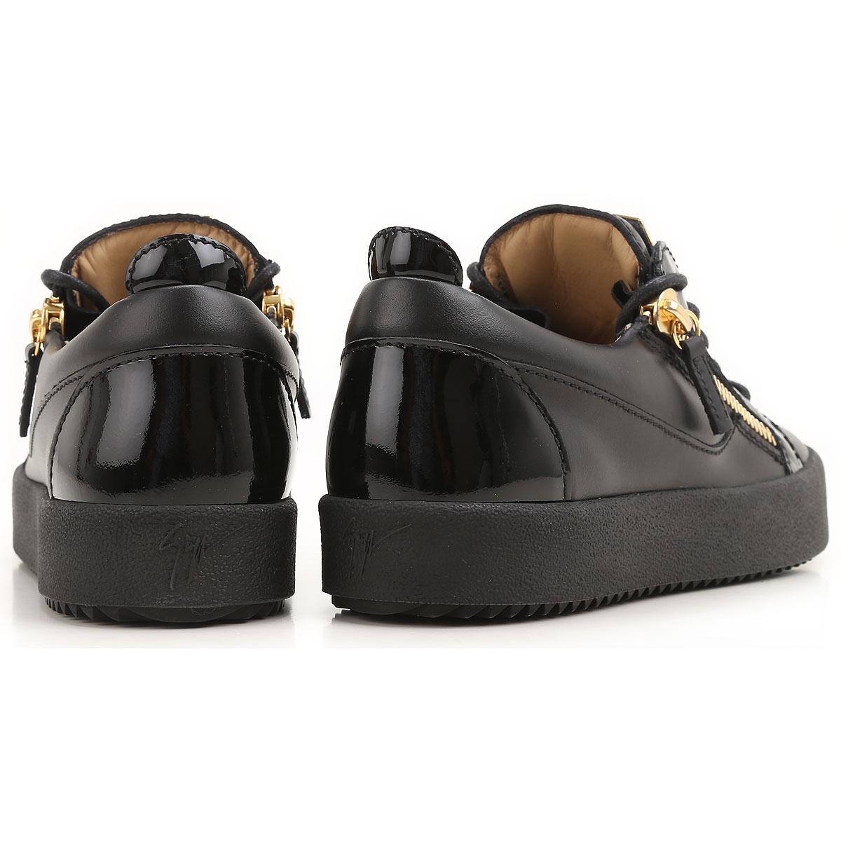 Giuseppe Zanotti Lace Sneakers For Women in Black