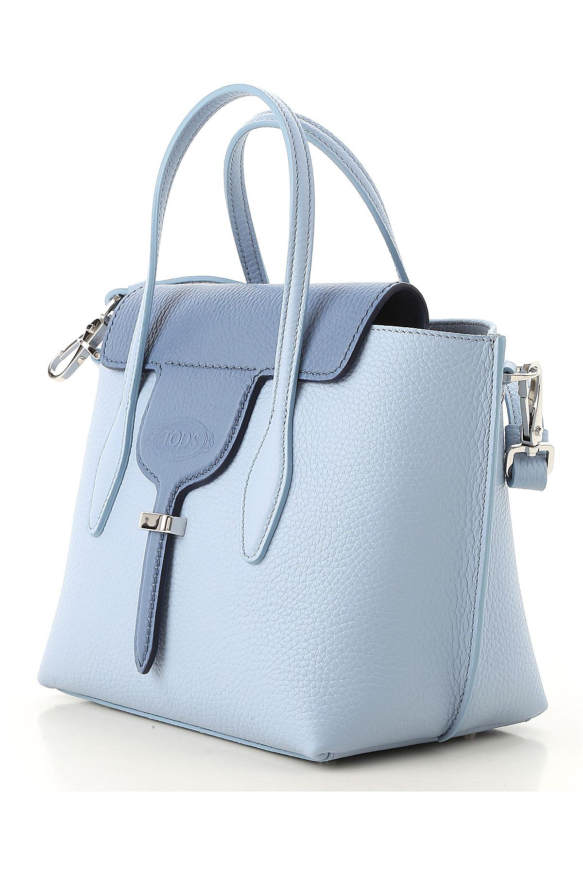 Tod's Leather Handbags in Blue