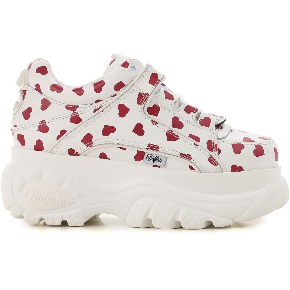 Zapatillas Deportivas de Mujer Buffalo de color Blanco
