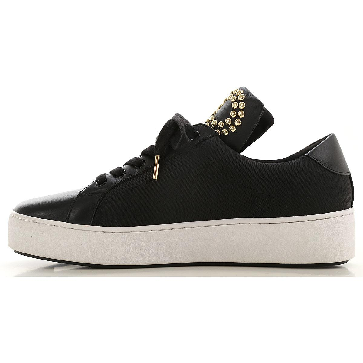 Zapatillas Deportivas de Mujer Michael Kors de Cuero de color Negro