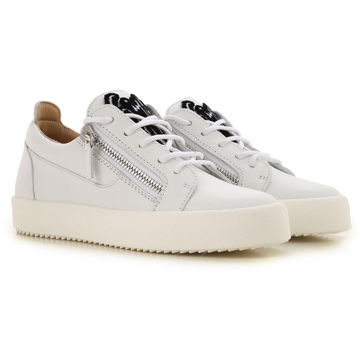d129f56e0c040 Lyst - Giuseppe Zanotti Sneakers For Women On Sale in White