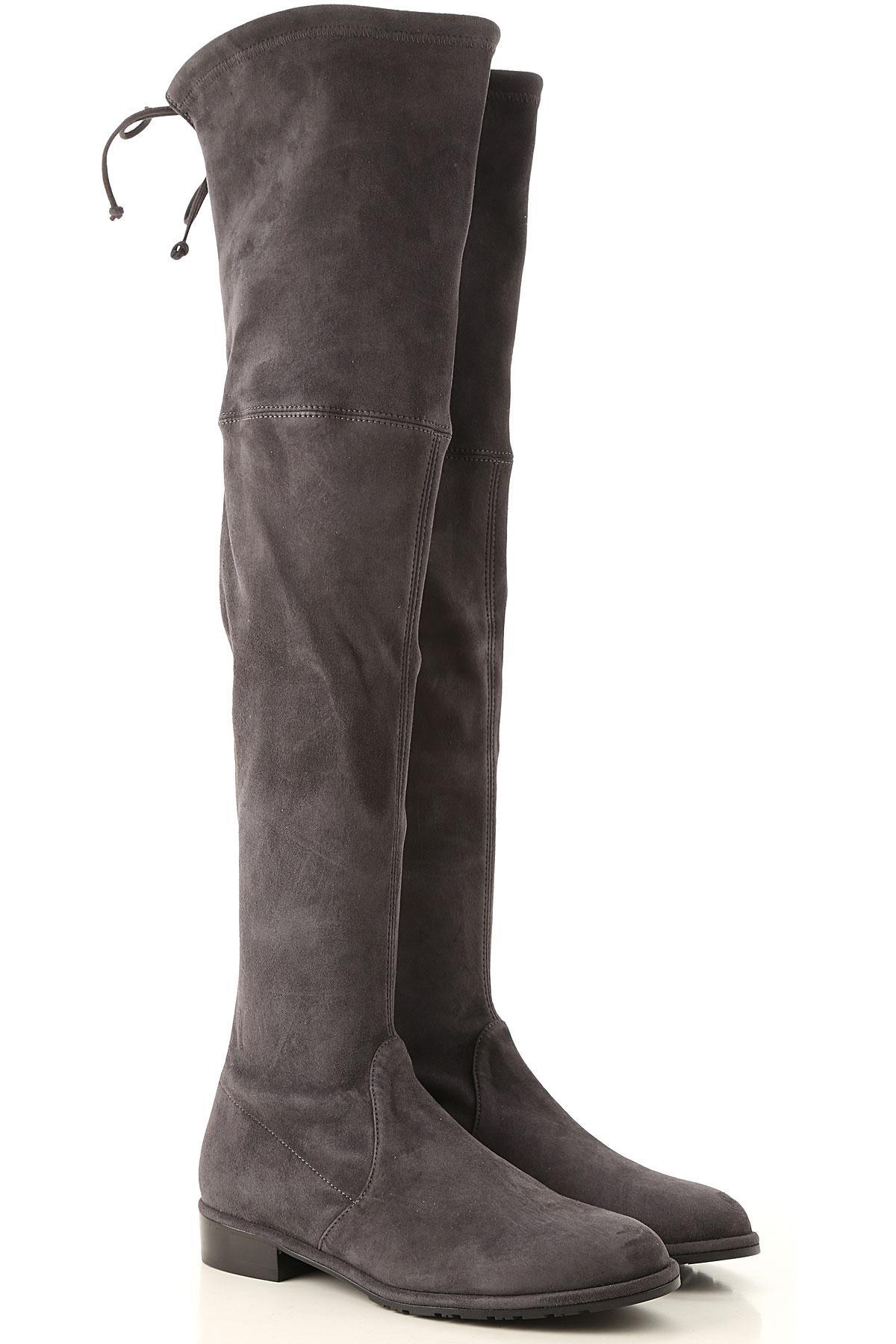 686645e5969 Lyst - Stuart Weitzman Boots For Women in Gray