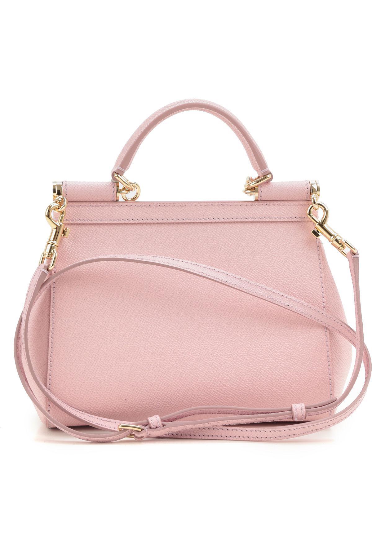 18400525d9 Dolce   Gabbana - Pink Shoulder Bag For Women - Lyst. View fullscreen