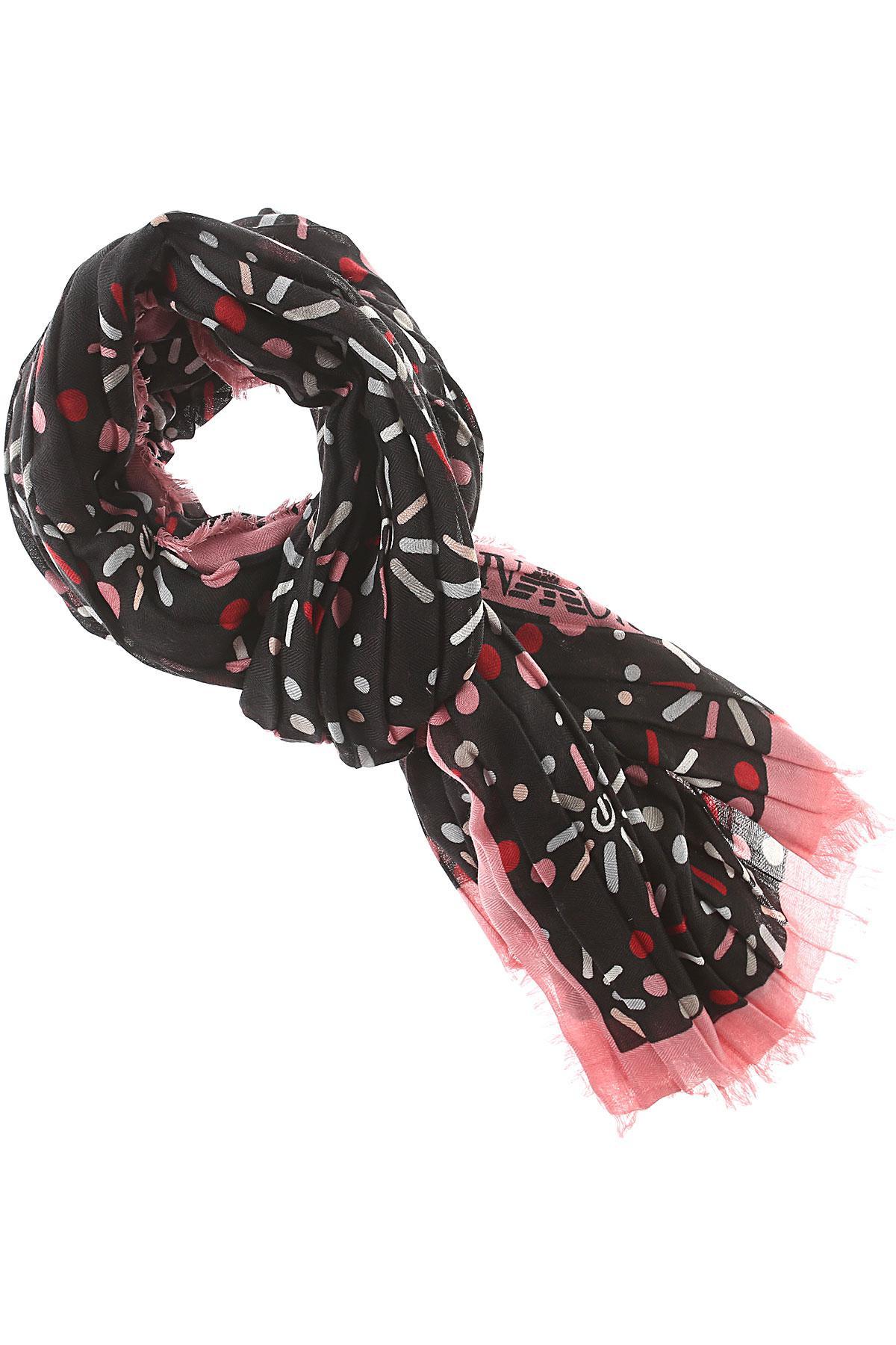 Lyst - Écharpe Femme Pas cher en Soldes Emporio Armani en coloris Rose 106295f6ba9