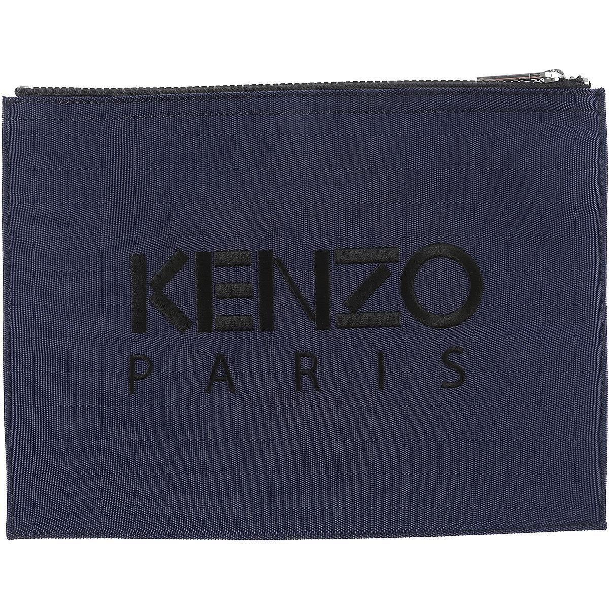 94a2bc26b KENZO - Blue Pouches On Sale for Men - Lyst. View fullscreen