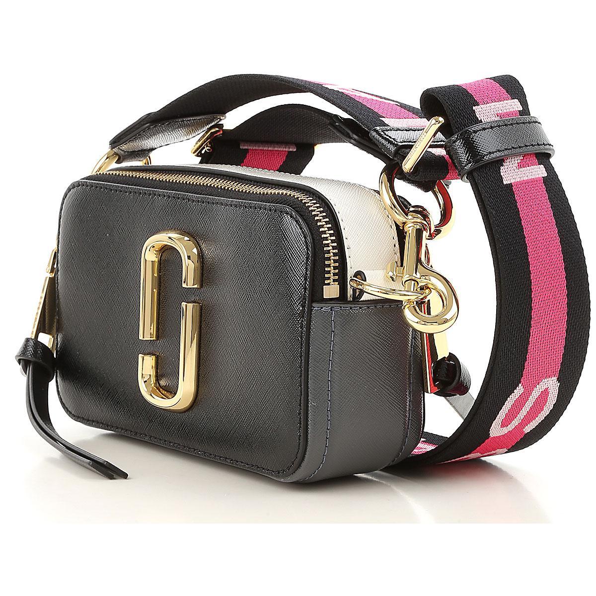 Michael Kors Black leather slouchy shoulder bag, Designer