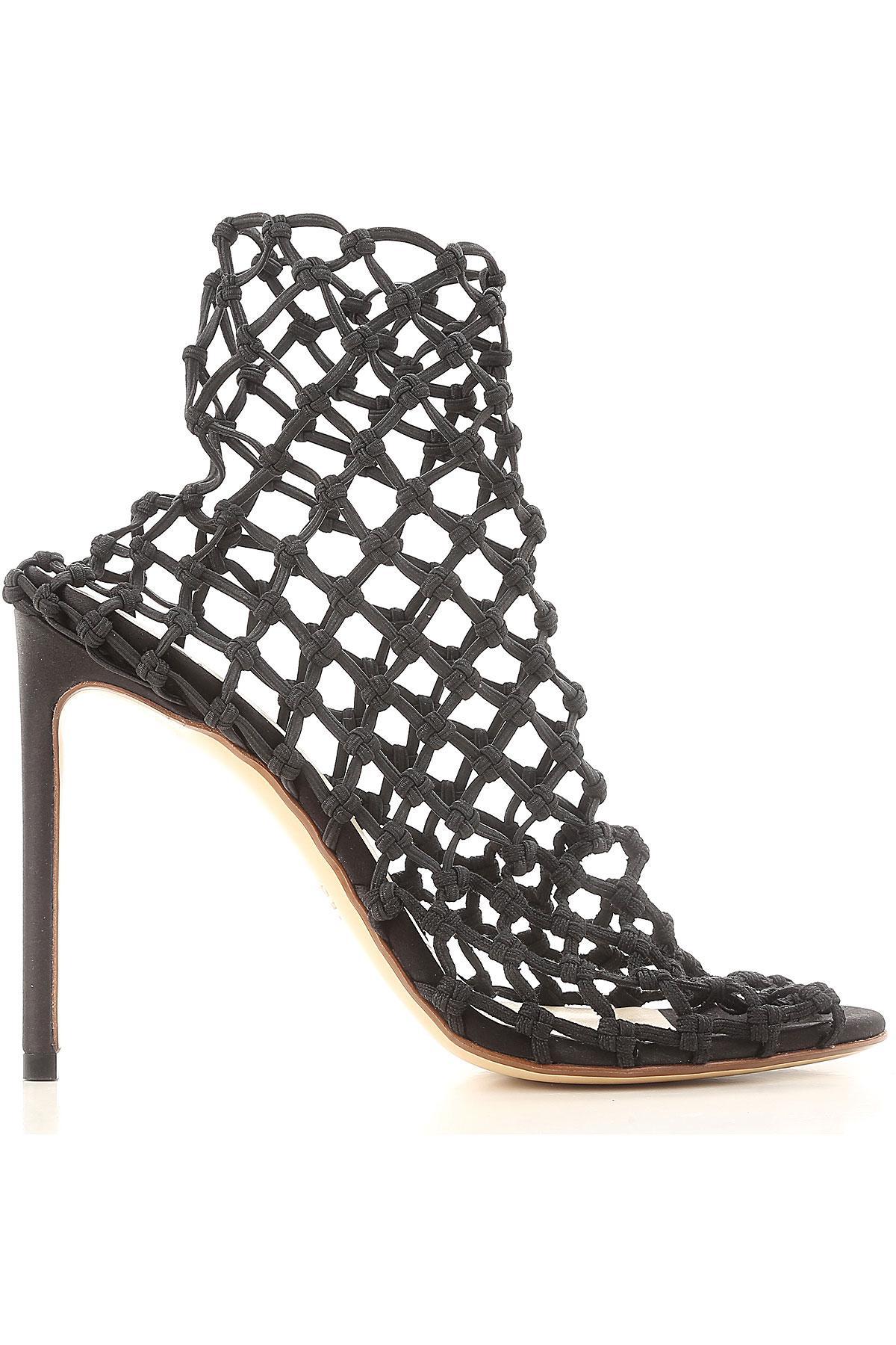 Botas de Mujer Francesco Russo de Cuero de color Negro