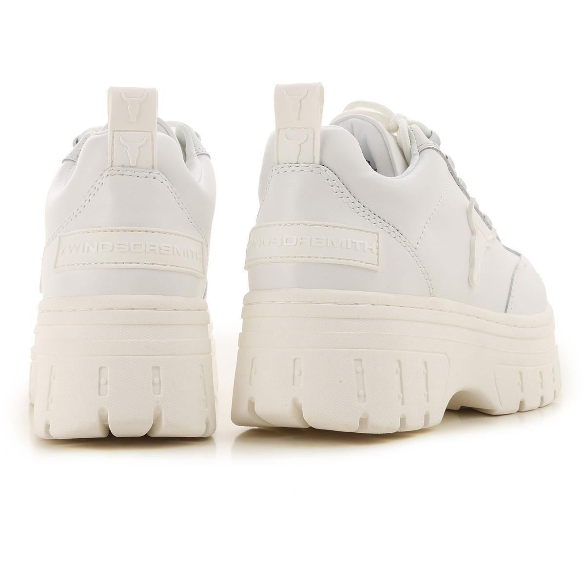 Cuñas para Mujer Windsor Smith de color Blanco