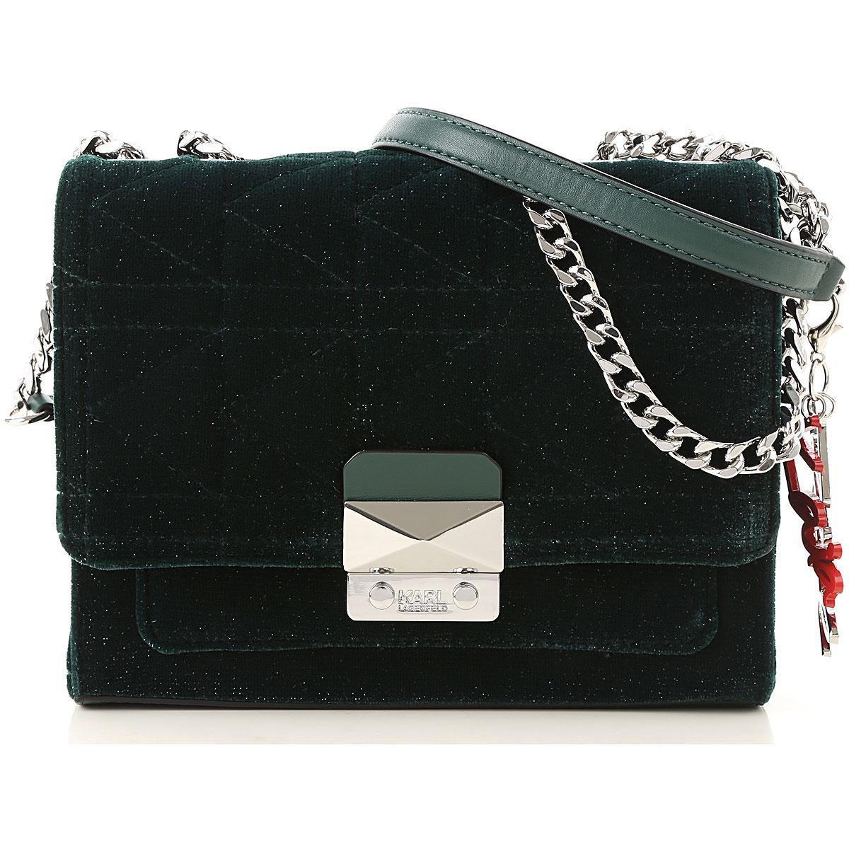 da21534016 Lyst - Karl Lagerfeld Shoulder Bag For Women in Black