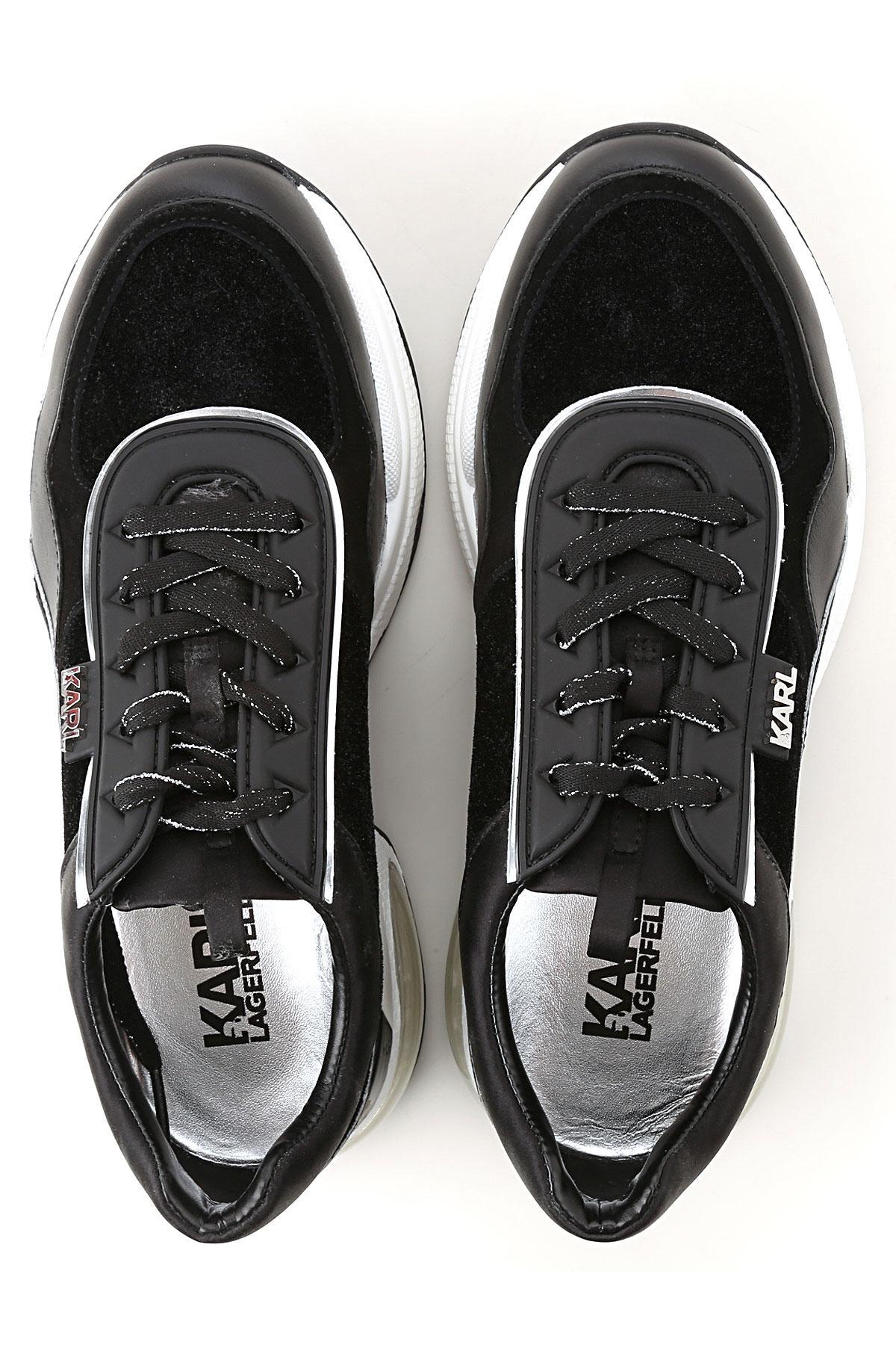 Zapatillas Deportivas de Mujer Karl Lagerfeld de color Negro