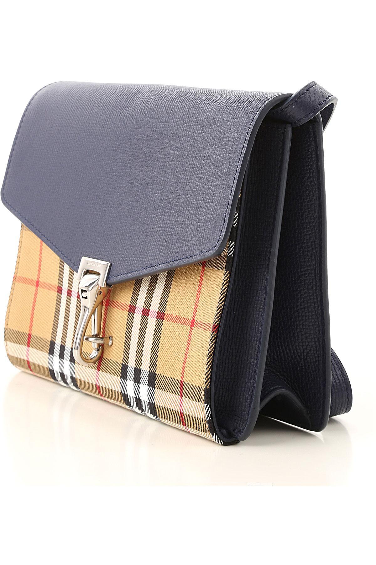 d8fa2c823083 Lyst - Burberry Shoulder Bag For Women in Blue