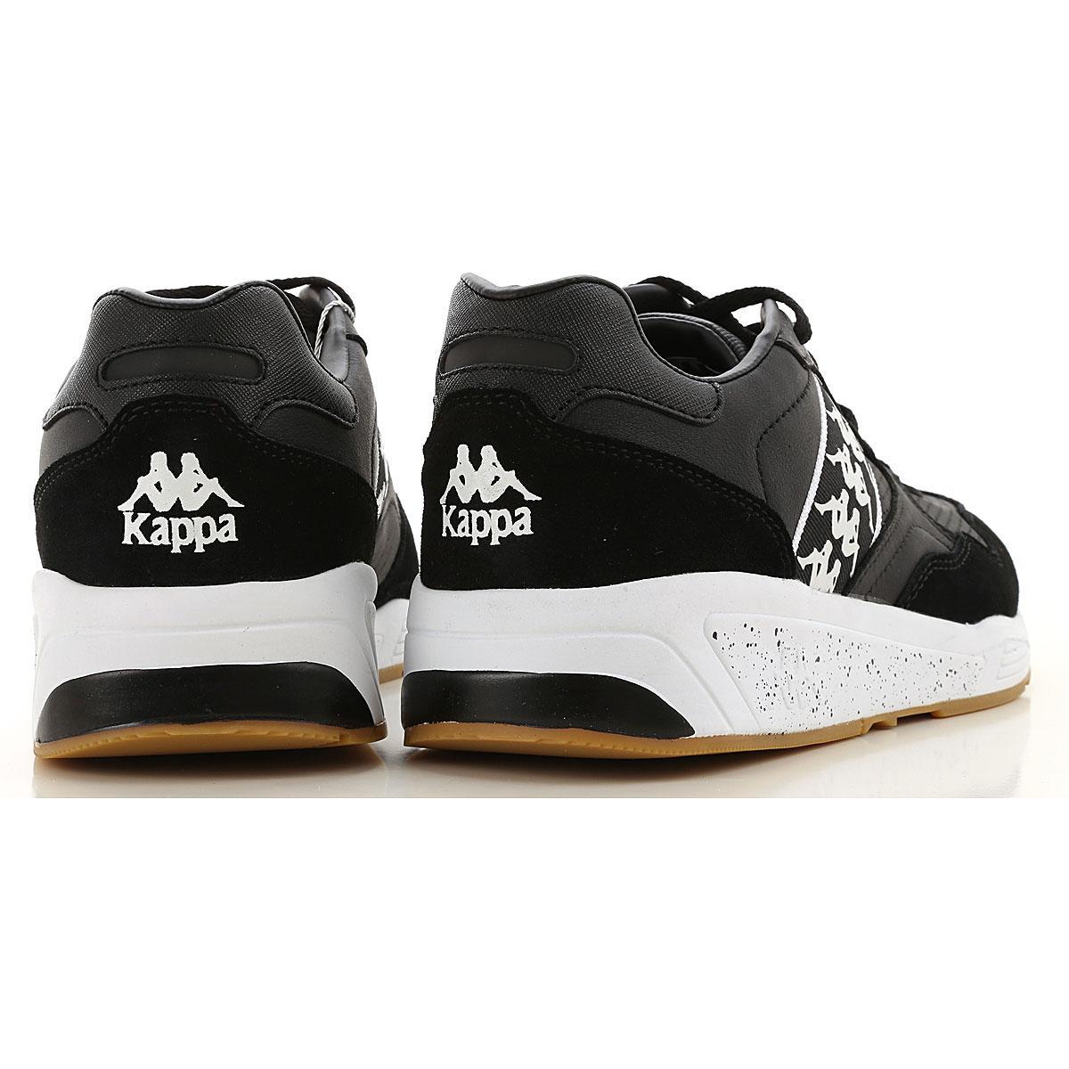 Kappa Lace Sneakers For Men in Black