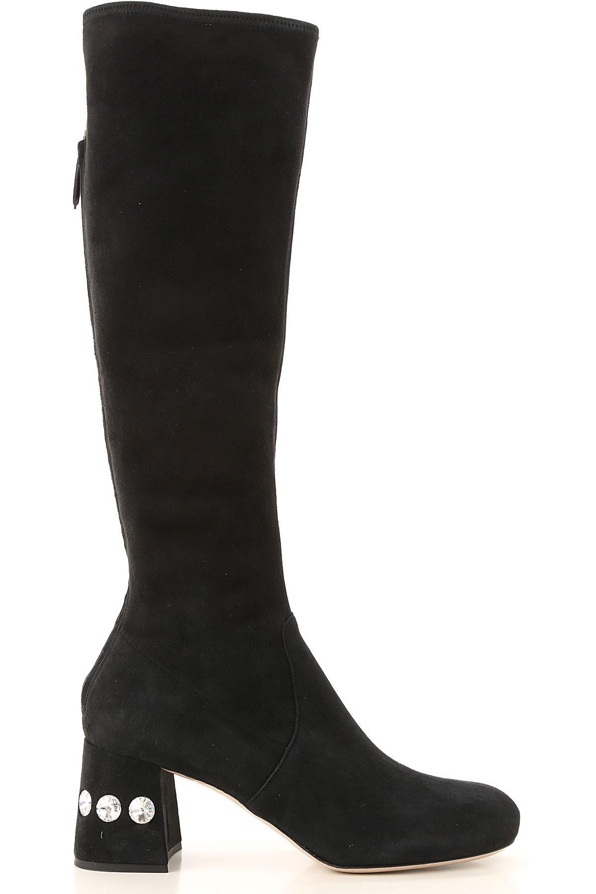 Botas de Mujer Miu Miu de color Negro