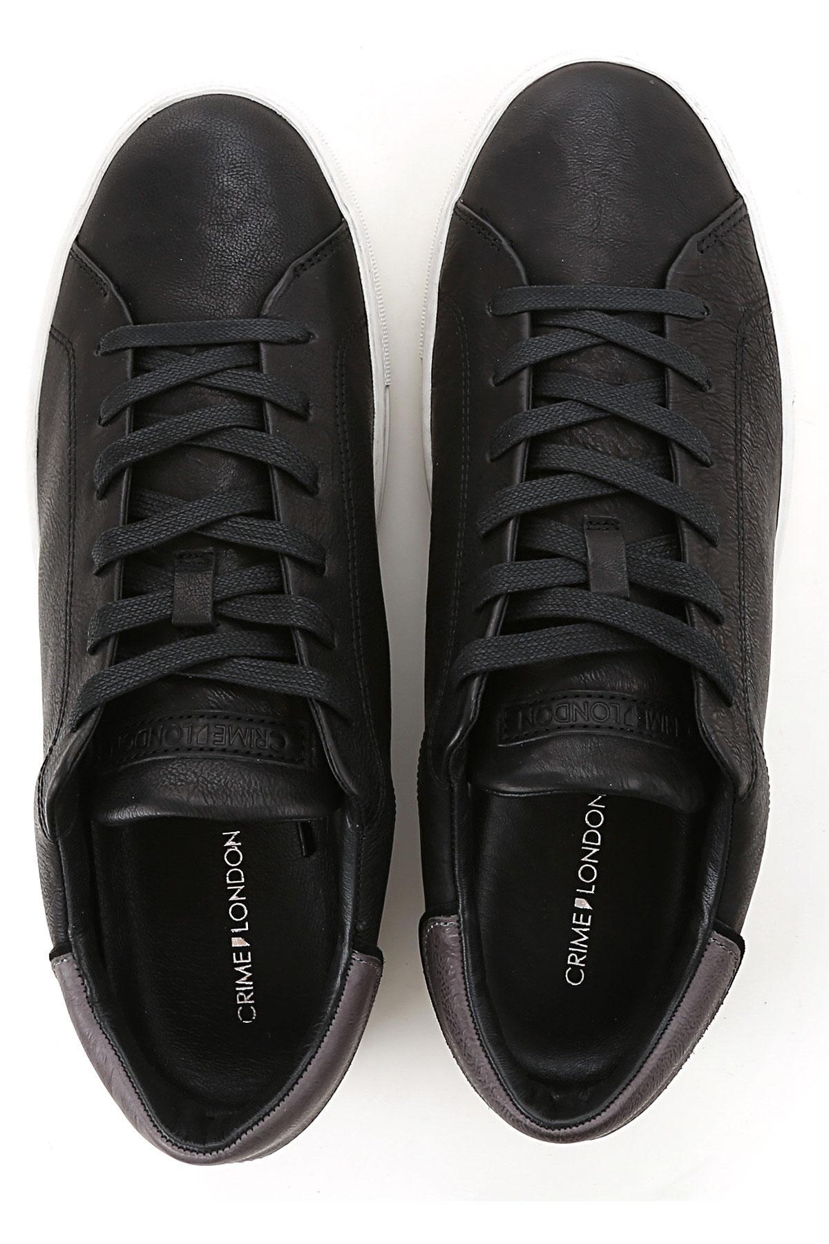 Zapatillas Deportivas de Hombre Crime de hombre de color Negro