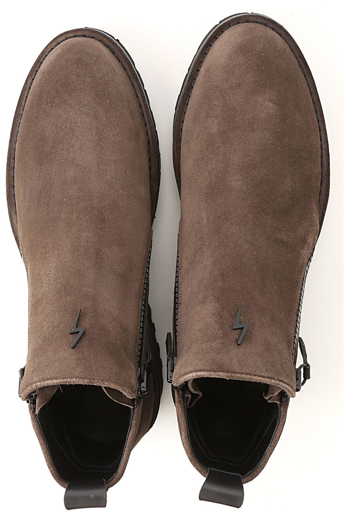 Botas de Hombre Giuseppe Zanotti de hombre de color Marrón