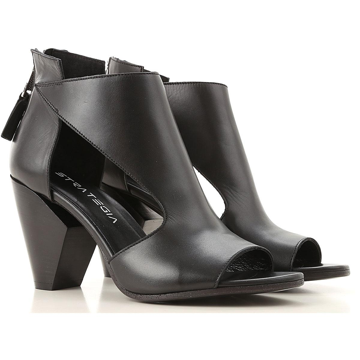 61e82c2d09d Strategia Sandals For Women in Black - Lyst