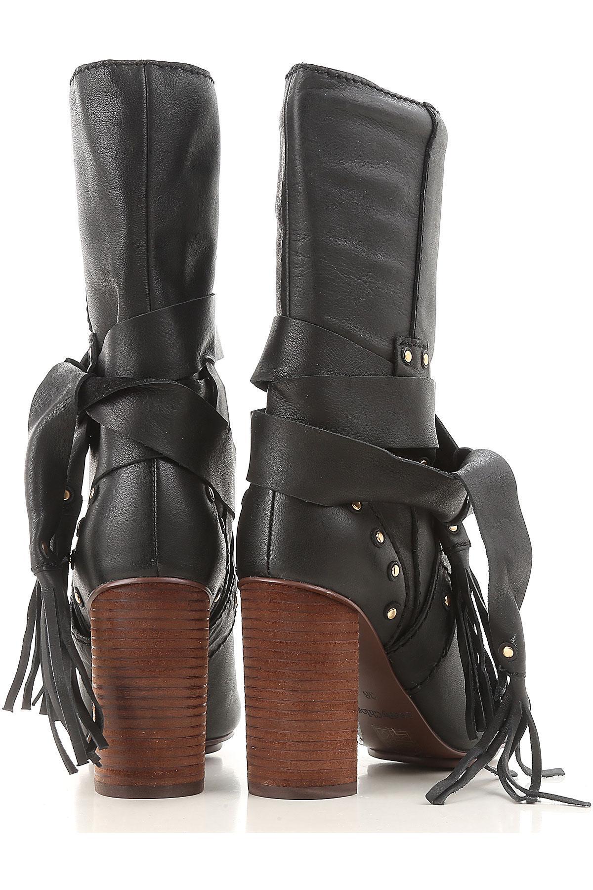 Botas de Mujer See By Chloé de Cuero de color Negro