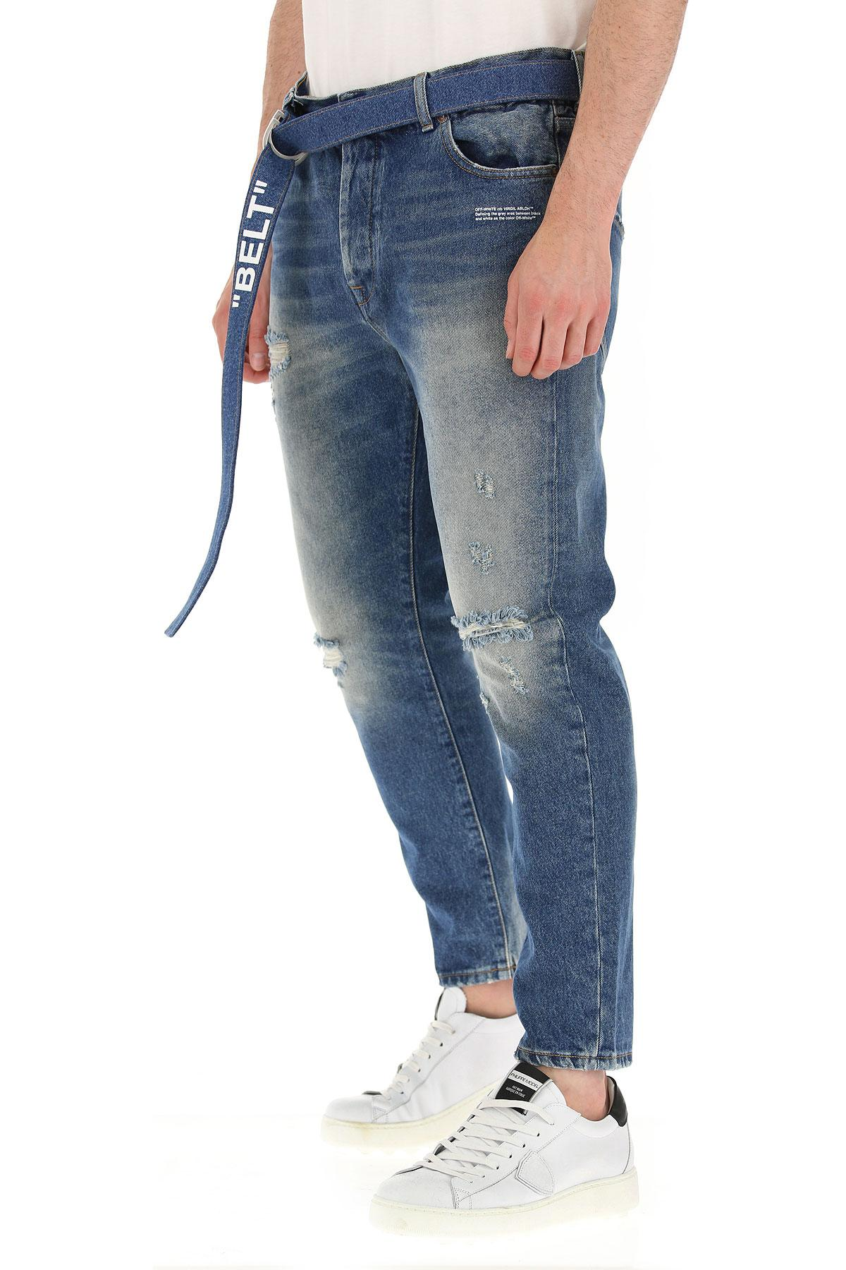 Off-White c/o Virgil Abloh Denim Jeans in Blau für Herren 5xyGY