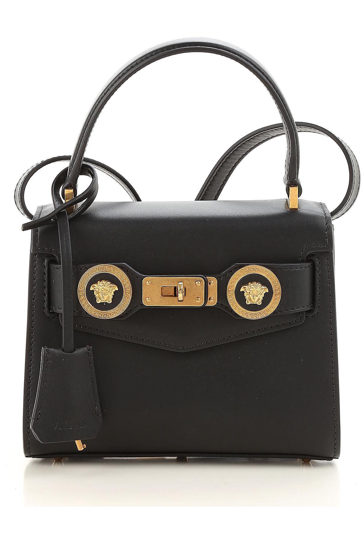 2e54dd660e Versace - Black Sac Bandoulière Femme Pas cher en Soldes - Lyst. Afficher  en plein écran