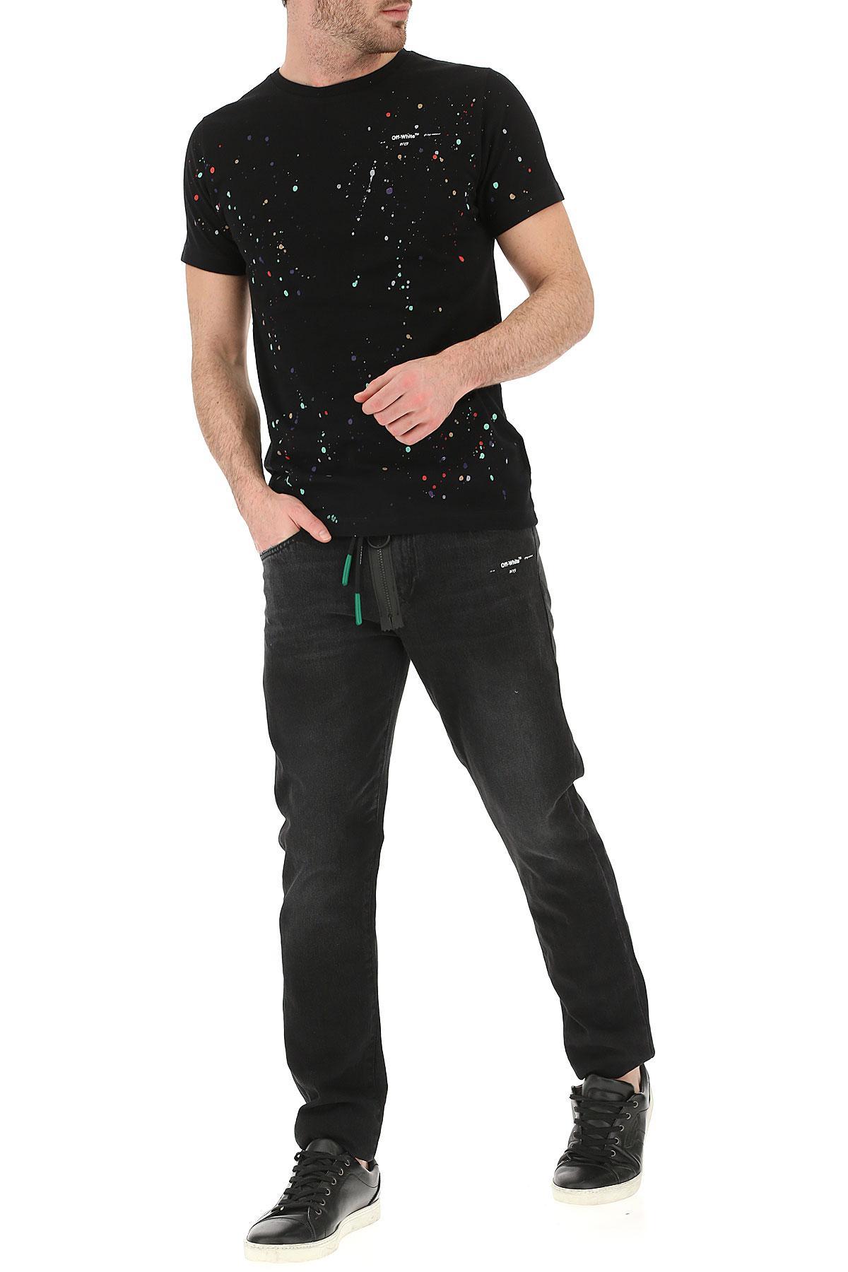 b2008841452e Lyst - Off-White C O Virgil Abloh Jeans in Black for Men