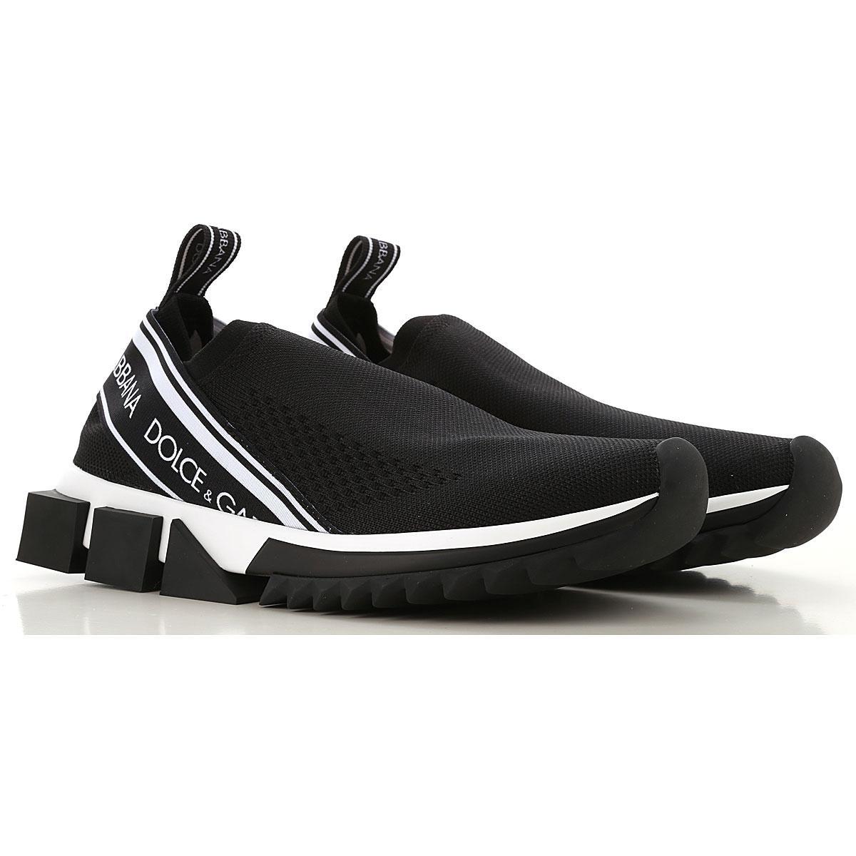 2d4614d64a Dolce & Gabbana - Black Zapatillas Deportivas de Mujer - Lyst. Ver en  pantalla completa